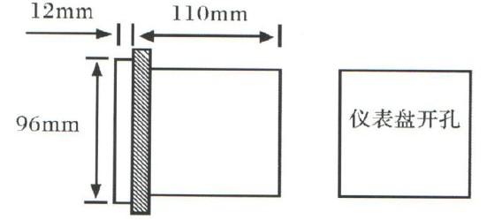 将压力仪表后面板接线端子与传感器各引线分别对应